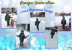 зимние забавы торопчин
